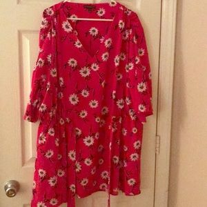 LANE BRYANT floral shirt